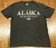 Jansport University of Alaska Seawolves EST 1954 Top Short Sleeve Tshirt Medium