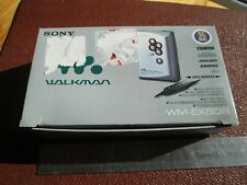 Sony WM-EX506 cassette Voice recorder/player. Working. Walkman. retro