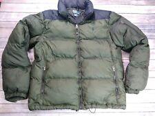 Polo Ralph Lauren Down Puffer Jacket Men's Large Green packable Hoody