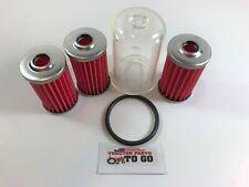 Iseki Fuel Filter Kit, Filters (3),Fuel Bowl,Oring,5 Piece,Te3210,Ts1910, More