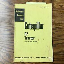 CAT Caterpillar D2 TRACTOR SERVICE MANUAL SERVICEMEN REFERENCE GUIDE BULLDOZER