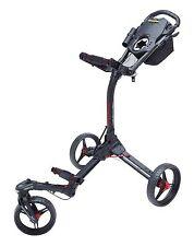 Bag Boy Compact C3 3-Rad Golftrolley Farbe: Black/Red Neu!