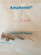 AMPHENOL 31-71008 CONNECTOR   Lot of 9