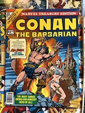 MARVEL TREASURY EDITION 15, VF/NM, 1976 MARVEL COMICS, CONAN THE BARBARIAN