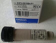 Omron E3F2-DS10B4-P1 fotocelula 100mm M-18 conector M-12 nueva