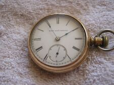 Antique Elgin Pocket Watch 1887 Lever Set