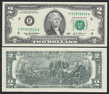 "United States 2 Dollar 2003 A ""F"" Georgia P 516 b Unc Low Shipping! Combine Free"