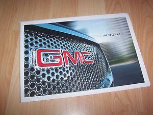Prospectus / Brochure GMC Gamme / Full line 2010 USA //