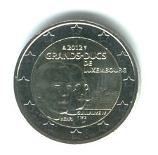 Luxemburgo 2012 - 2 Euros Conmemorativos - 100º Aniversario Wilheim Lv (unc)