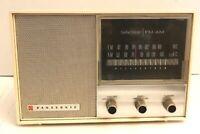 Vintage Panasonic RE-7127 Solid State FM AM Radio Retro Mid Century Modern Decor