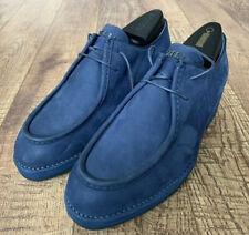 NWB ZILLI Men Blue Chukka Soft Nubuck Boots Size 9US /8UK $1,450 SALE!!!