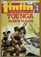 BD Comics Magazine Hebdo Journal Tintin No 30 40e 1985 Tounga
