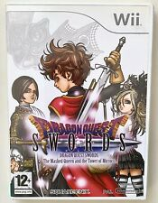 Dragon Quest Swords: Masked Queen Tower of Mirrors Nintendo Wii RARE RPG Game