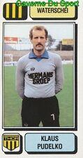 296 KLAUS PUDELKO GERMANY GDR WATERSCHEI STICKER FOOTBALL 1983 PANINI