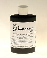 Silvering, Pasta per argentare e placcare in argento rame ottone bronzo 150 ml.