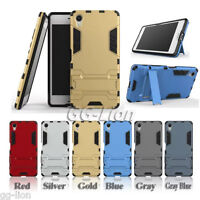 Heavy Duty Armor Hybrid Hard Case Cover For Sony Xperia X, F5121 F5122