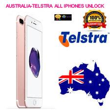 Telstra Australia tutti gli iPhone 4,5,6,6S,6+ 7,7 S, 8 servizio di Sblocco Clean & contratto