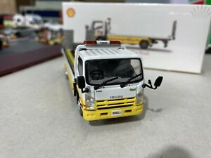 1:64 Diecast Shell Flatbed Tow Truck New