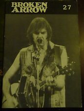 BROKEN ARROW Issue 27 - 1987: Neil Young appreciation society fanzine