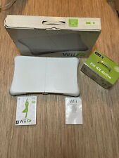 Nintendo Wii Balance Board + Wii Fit & Fitt Kit Active Game Plays Perfectly.