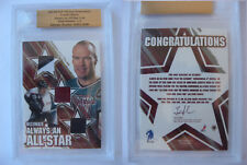 2003-04 ITG BaP Ultimate Mark Messier 1/1 always all star GOLD 1 of 1 PATCH