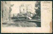 Salerno Scafati Ponte sul Sarno MACCHIA cartolina VK3581