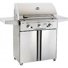 American Outdoor Grill 30 Inch Natural Gas Grill On Cart