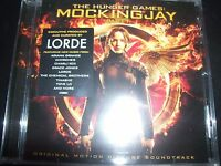 Mockingjay – The Hunger Games Part 1 Original Motion Picture Soundtrack CD – New