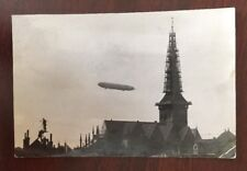 Pre-WWI Zeppelin Viktoria Luise Postally Used Photo Postcard To US