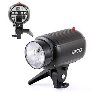 New Godox E300 300W Photo graphy Studio Strobe Flash Light Lamp Head Highlight