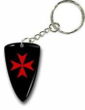 Porte clés clefs keychain voiture moto drapeau templier knights templar bouclier