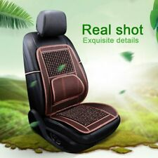 Universal Car Seat Cover Wooden Beads Car Driver Seat Cushion Natural Massage US