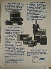 1976 People Put ConfidenceinCarrier Air Conditioners Conditioning Original  Ad