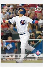2018 Topps NOW MLB 471 Willson Contreras First-Pitch HR in First Career MLB ASG