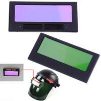 """Automatic arrival solar darkening welding helmet lens filter shade 4-1/4"""" x 2""""RG"""