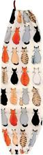 COTTON BAG SAVER TIDY for Plastic Bags CATS IN WAITING Ulster Weavers 739CWA