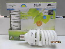 Sunrise Energy saver Light Bulbs, 40w=150w SSE-42 (U.S. Standard) medium base.