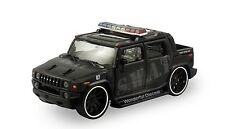 "5.5"" Metal World 1:35 Diecast Model Hummer H2 Custom SUV S.W.A.T. Police  #171"