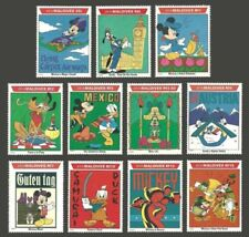 Mint Never Hinged/MNH Maldivian Disney Asian Stamps
