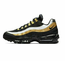 on sale 63dba fdf61 New Sz 14 Men's Nike Air Max 95 OG AT2865 002 Black Gold AT2865 002
