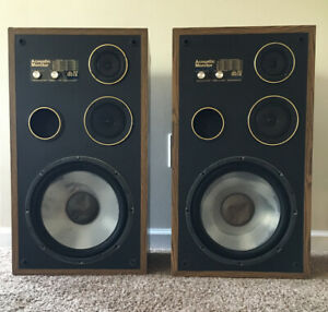 Acoustic Monitor db IV Speakers, Digital Ready - Liquid Cooled *Works, TESTED