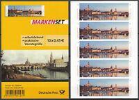 Bund FB 38 ** Folienblatt postfrisch Dresden 2014 je 5x 3073-3074  selbstklebend