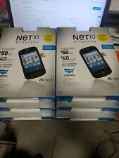 Net10 Prepaid Zte Merit cell Phones - Read Description -wholesale lot of 6 units