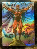 1993 SkyBox Marvel X-Men - Hologram Chase Card -  H-2 Magneto