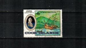 COOK ISLANDS Scott's 830 ( 1v ) Capt Cook, AUSIPEX '84 F/VF Used ( 1984 )