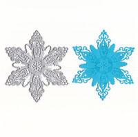 Stanzschablone Schneeflocke Liane Weihnachten Neujahr Oster Karte Album Deko DIY
