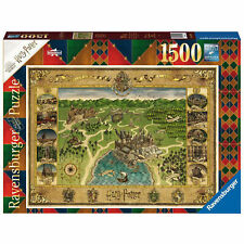 Ravensburger Puzzle Hogwarts Karte