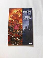Siege Thor- Marvel  Avengers Graphic Novel TPB Comic Book