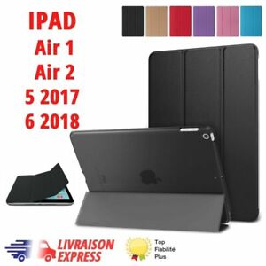 HOUSSE COQUE ETUI ipad Air 1, Air 2, ipad 6 2018, ipad 5 2017 etui smart cover