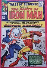 Tales of Suspense 58 1964 Captain America vs. Iron Man